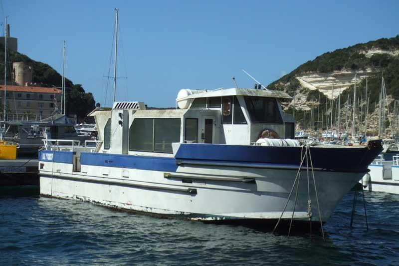 Expertise de trois vedettes à passagers pour la succession d'un armateur à BONIFACIO (Corse du Sud) le 09 mars 2009